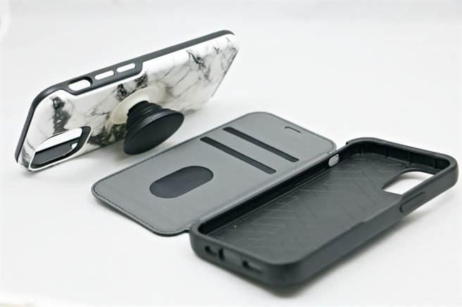 Otterbox专为iPhone 12 mini推出多款保护壳。(黄慧雯摄)