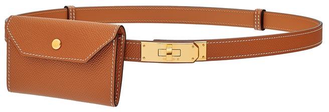愛馬仕Kelly 18 Pocket系列腰帶,4萬3600元。(HERMES提供)