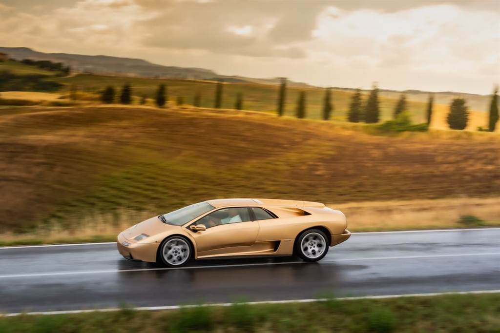 Lamborghini慶祝Diablo 30歲生日