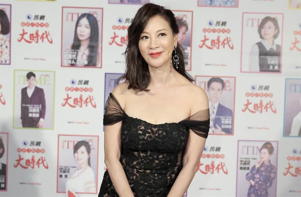 楊繡惠被爆跟小3歲男星陳文山秘戀,她澄清沒有交往,卻被好友爆料其實是跟馬國賢在一起。(中時資料照片)