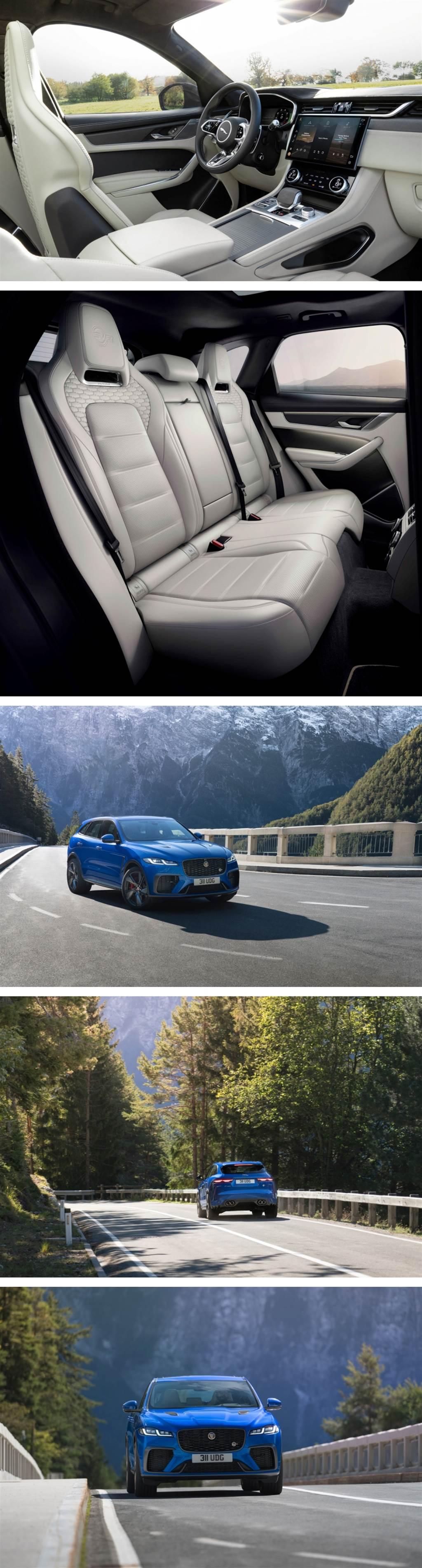 豪華、科技、性能全面精進 Jaguar 發表小改款 F-PACE SVR