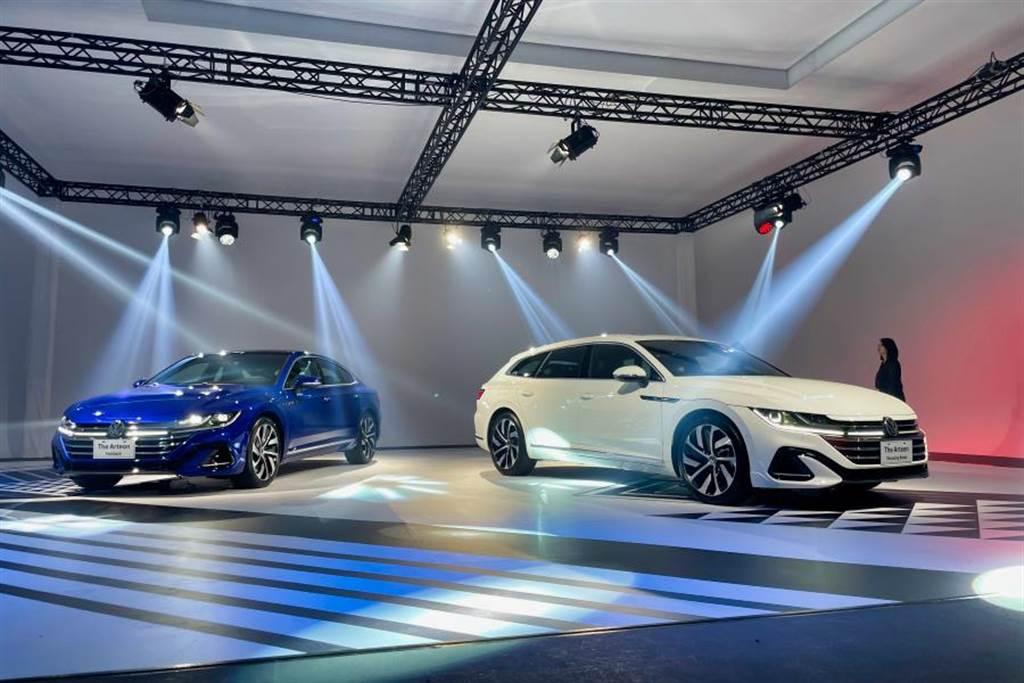 Volkswagen新世代旗艦Arteon實車展出,明年一月正式上市