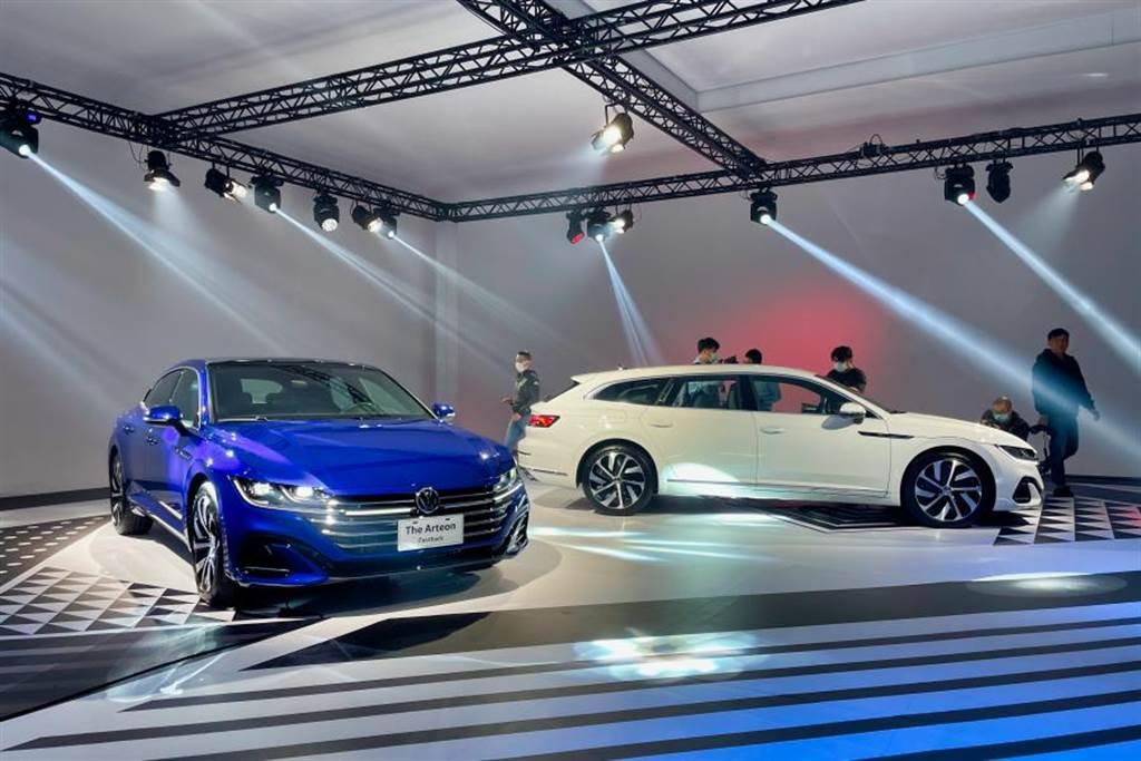 而五門版本有別於傳統方正旅行車造型,後擋玻璃也採用斜背設計,獵跑風格深受買家喜愛,具原廠表示預售訂單有75%買家選擇Shootingbrake車型。