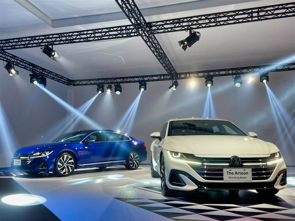 Volkswagen新世代旗艦Arteon實車展出,明年一月正式上市。