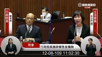 謝長廷找陳時中、吳釗燮談核食 蘇貞昌狀況外:沒人跟我報告