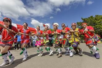 竹縣平地原民「歲時祭儀」13日在竹北河濱公園足球場盛大舉行