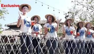 30泰國佳麗吊橋甜笑拍照 下秒突斷繩「集體落水」嚇尖叫