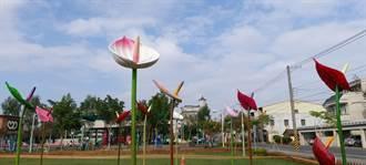 六甲公園公仔、火鶴花藝術裝置 打卡新「嬌」點