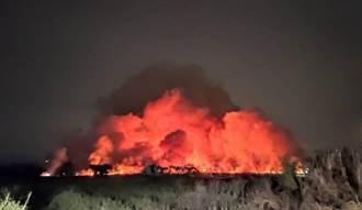 台南農場大火臭到全高雄市都聞到 黃捷回應了