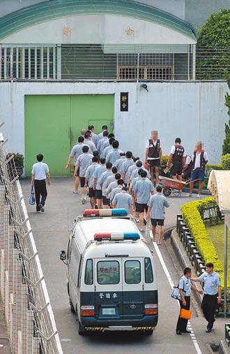 台北看守所爆量 向雙北院檢喊話