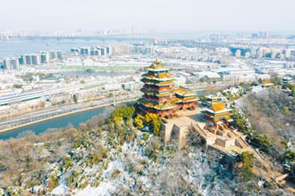 南京江岸绿化 打造城市客厅