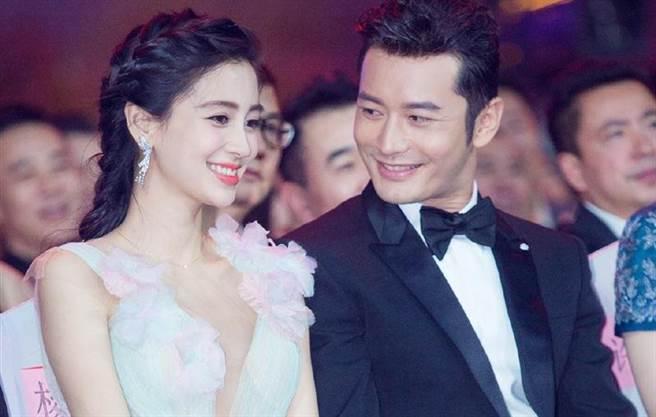 黄晓明和Angelababy屡传婚变。(图/翻摄自黄晓明微博)