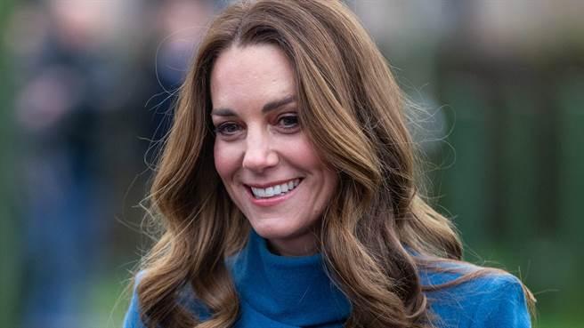 凱特王妃4度舊衣新穿令粉絲們驚艷。(圖/達志影像)