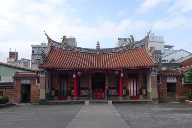 創建於1835年的林氏家廟追遠堂,雖然歷經多次整修,但大致能遵循原貌,整體配置完整。(宜蘭縣文化局提供/李忠一宜蘭傳真)