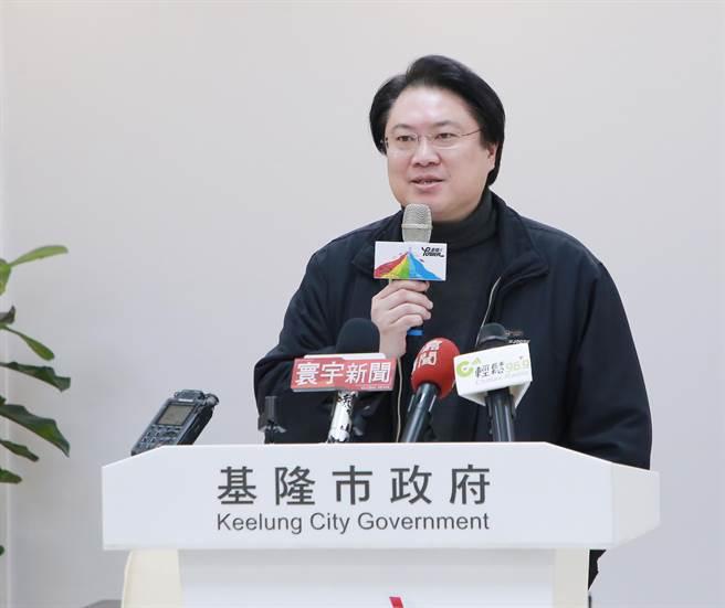 基隆市長林右昌在18日被問到市政相關議題,坦言「恨不得自己是台北市長」,引發外界謠傳他想選台北市的風聲。(中時資料照)