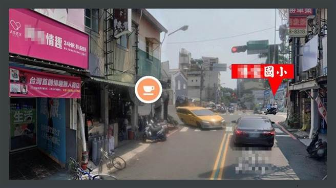 台南市東區一家24小時無人情趣用品店,被檢舉距離附近的國小僅百餘公尺。(林燕祝提供/洪榮志台南傳真)