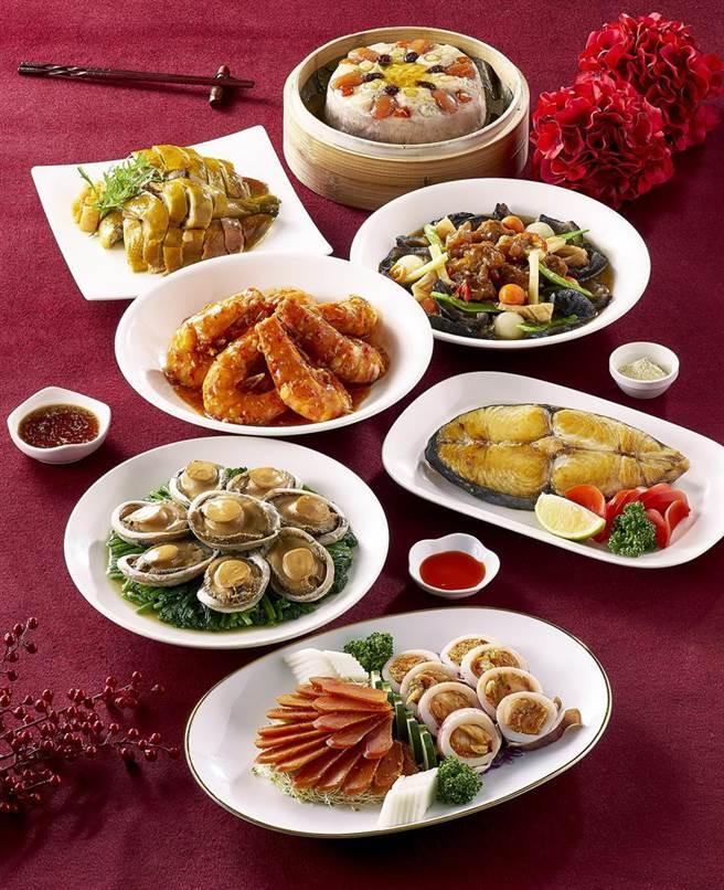 (欣葉集團年菜開賣,「七滿福年菜」為現做手路菜。圖/欣葉集團提供)