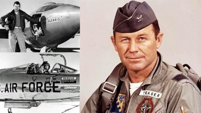 航太传奇英雄-查克叶格(Chuck Yeager)。(图/美国空军)