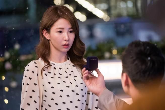 郭书瑶在《未来妈妈》中被男友公开求婚却没答应。(三立提供)