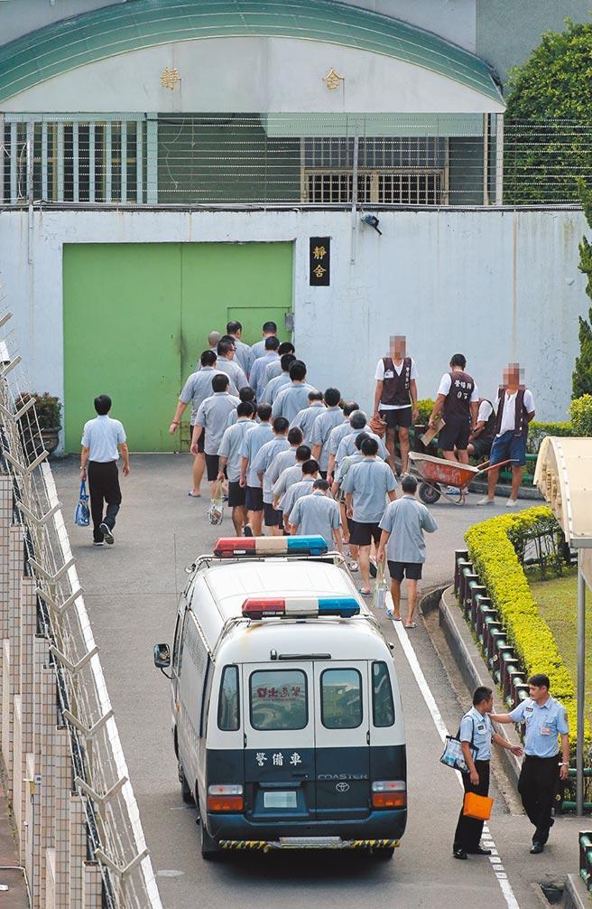 台北看守所近期因超收狀況嚴重,核定可收容總人數2134人,但目前已收容2500人,圖為台北看守所。(黃世麒攝)
