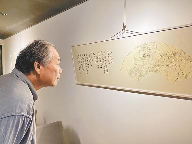 年少時曾是叛逆小子,不愛念書,66歲的藝術家陳宏勉,在書畫與刻印的世界裡,找到人生的道路。(沾美藝術提供)