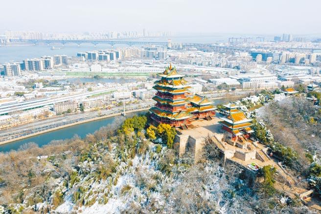 南京閱江樓。