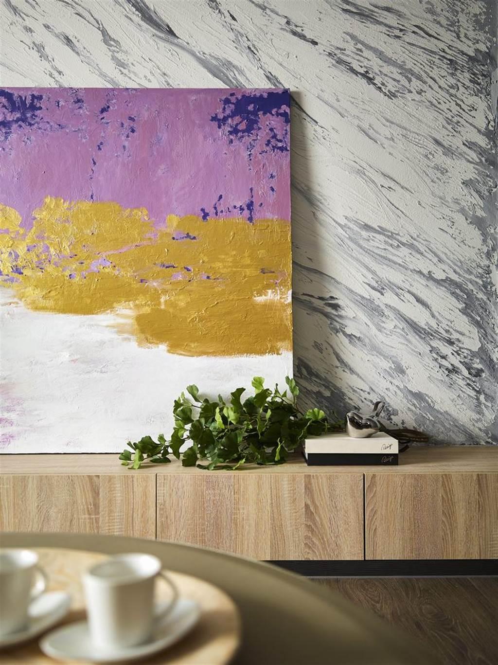 以多彩塗料為空間展現更多樣表情,不僅訴求健康,更為居家形塑專屬風格美學。(圖片提供/伸達股份有限公司)