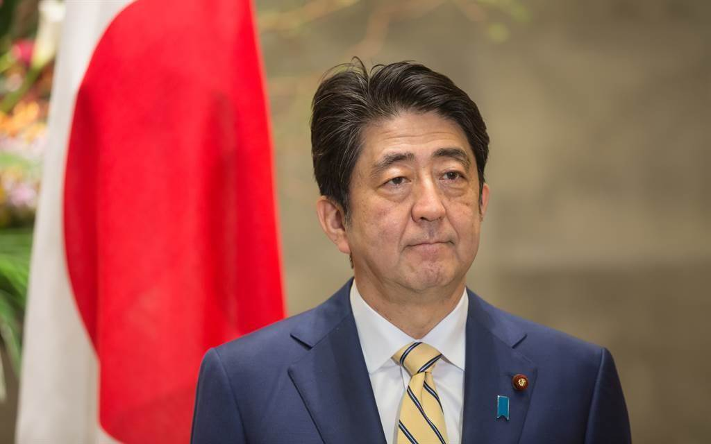 日本前首相安倍晉三。(圖/shutterstock)