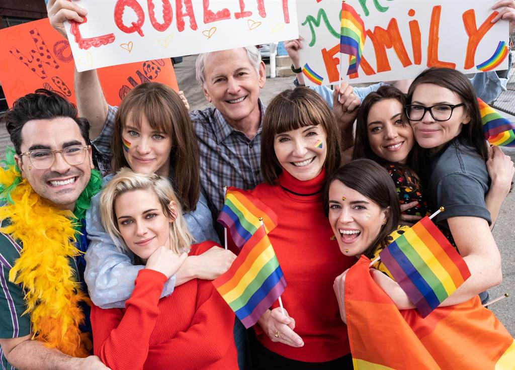 《求婚好意外》支持並參加同志遊行。(索尼影業提供)