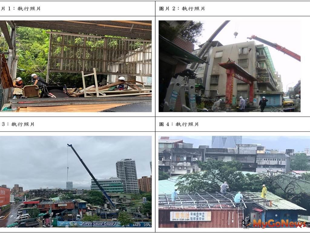 台北市違建處理行政績效榮獲六都第一(圖/台北市政府)
