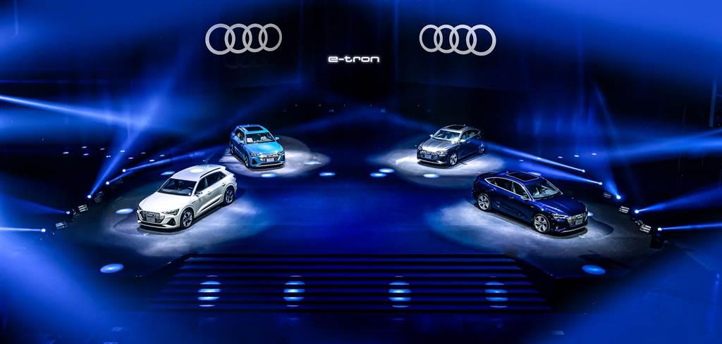 純電生活由此展開 Audi e-tron 304萬元起上市