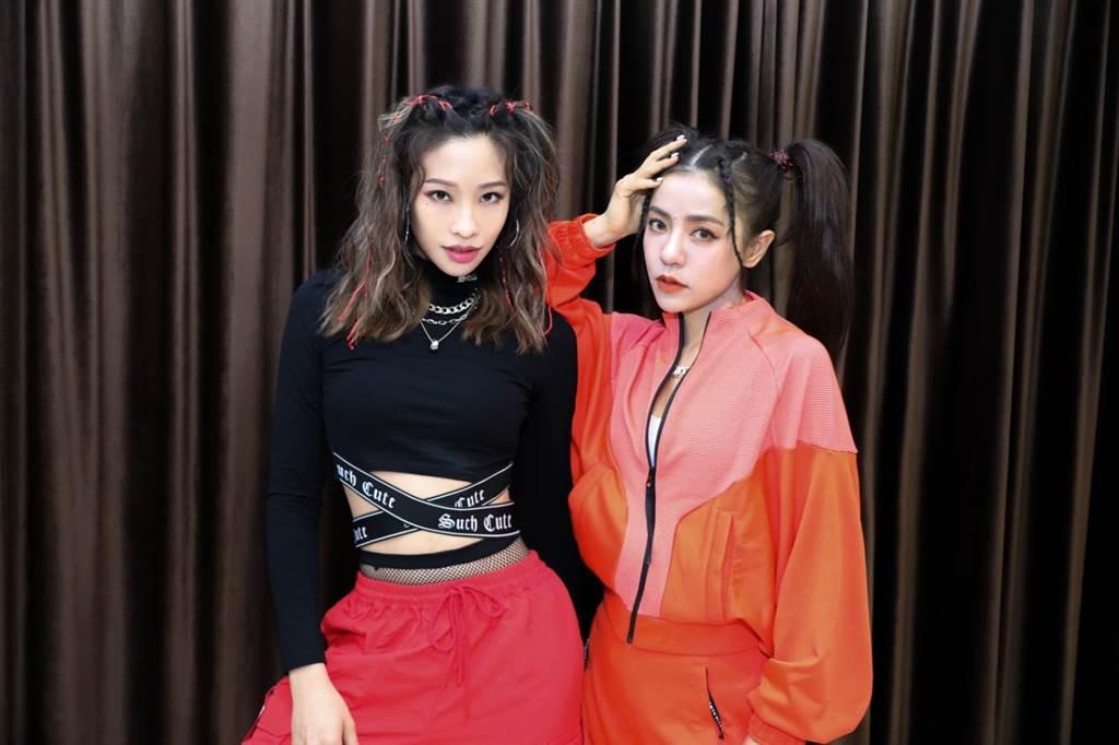 丁噹與Cindy袁詠琳自組「噹辛一點」,推出新歌〈我要我〉。(相信音樂提供)
