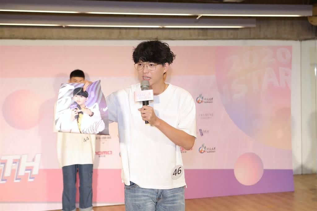 演藝組參賽者蘇子朋是台大榜首。(伊林娛樂提供)