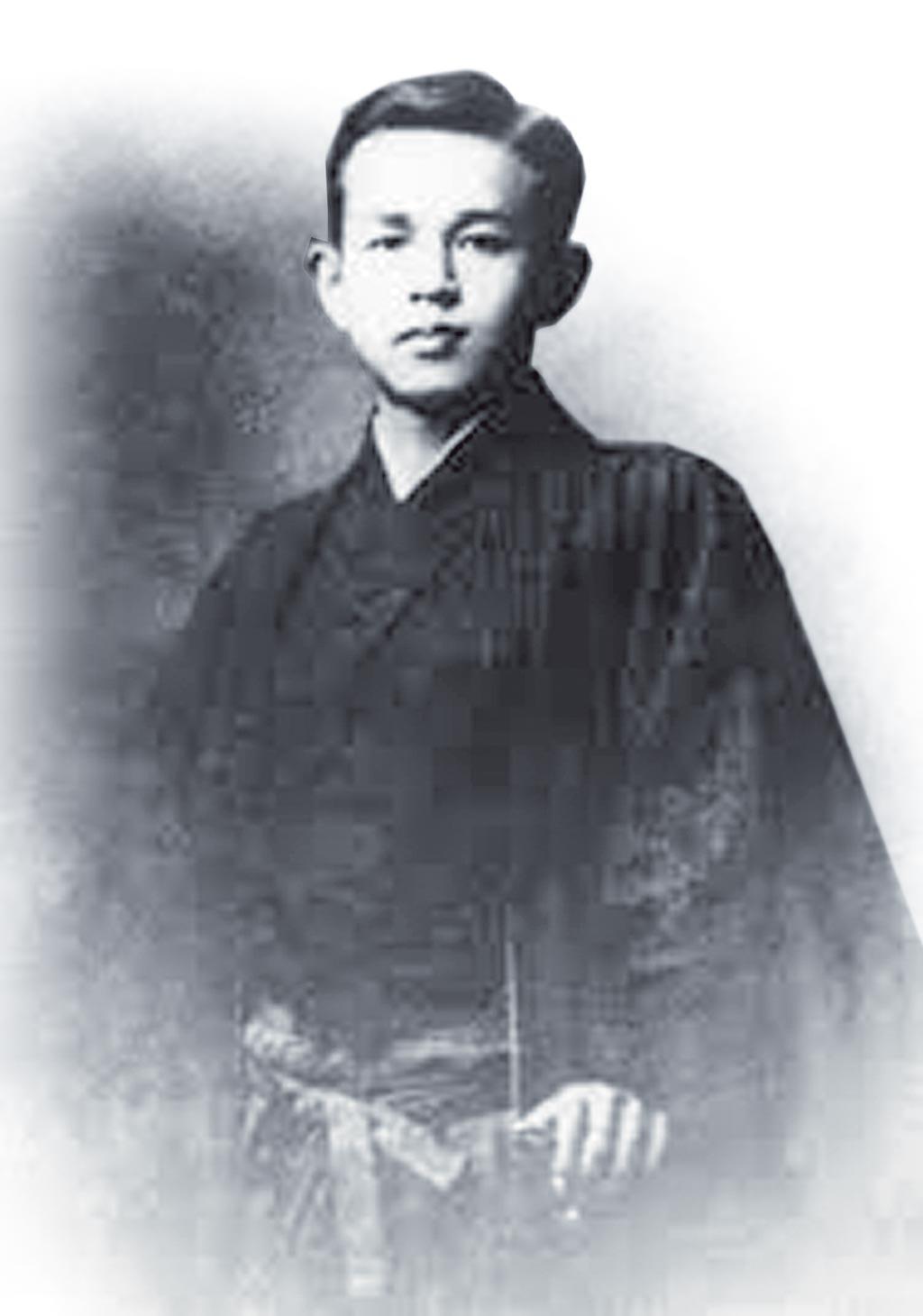 啄木本名「石川一」,盛岡中學校時期,曾以筆名「石川翠江」發表詩作。(摘自網路)