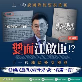 要外交部揪出「涉外人士」 江啟臣痛批藐視國會