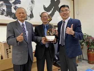 25年前創立台南一中校友傑出成就獎 翁安昌今獲獎