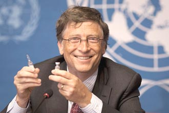 比爾蓋茲:明年首季 6款疫苗可供施打