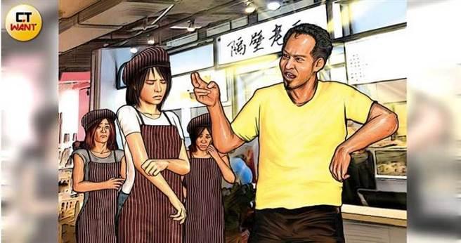 汤包名店「隔壁老王」老板王国华遭前员工控诉任意飙骂、苛扣薪水,之后更威胁「要对家人不利」性侵得逞。(图/翻摄脸书)