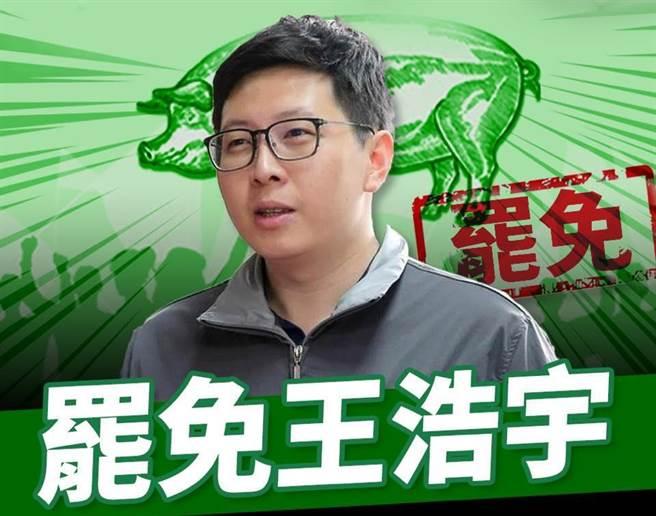 桃園市議員王浩宇。(圖/取自羅智強臉書)