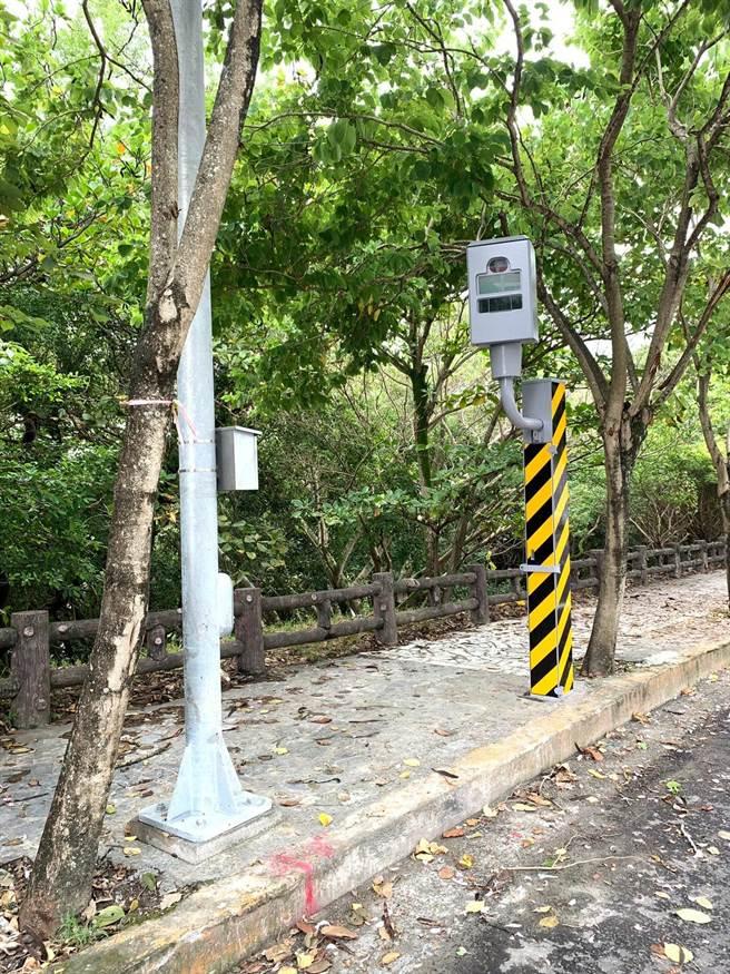 花蓮縣警局將在花蓮市美崙坡段,增設「數位雷達測速照相」。(花蓮縣警局提供/羅亦晽花蓮傳真)