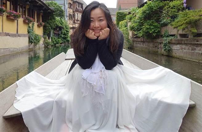 韩琳上节目谈前段婚姻的荒谬状况。(图/韩琳脸书)