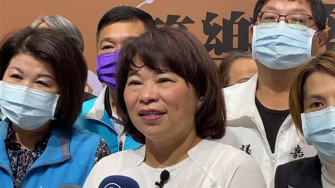 嘉義市長黃敏惠表示,會繼續爭取預算,推動國際管樂節的城市品牌。(廖素慧攝)