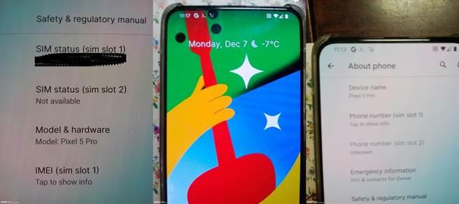 一款疑似名稱為Pixel 5 Pro的手機遭到爆料曝光。(摘自slashleaks.com )