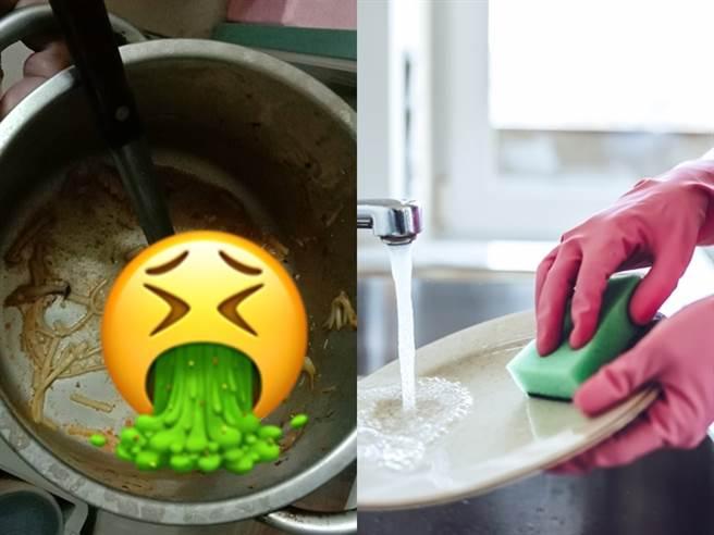 媳婦抱怨公婆將吃完的碗筷放進冰箱、不想洗碗,讓她相當傻眼。(圖/翻攝自臉書靠北婆婆2.0、示意圖/達志影像/Shutterstock提供)
