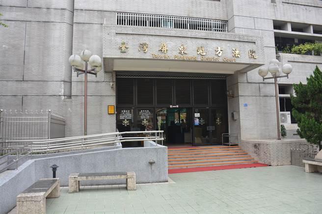 屏東地院一審判決弒母蔡男9年6月徒刑,可上訴。(林和生攝)