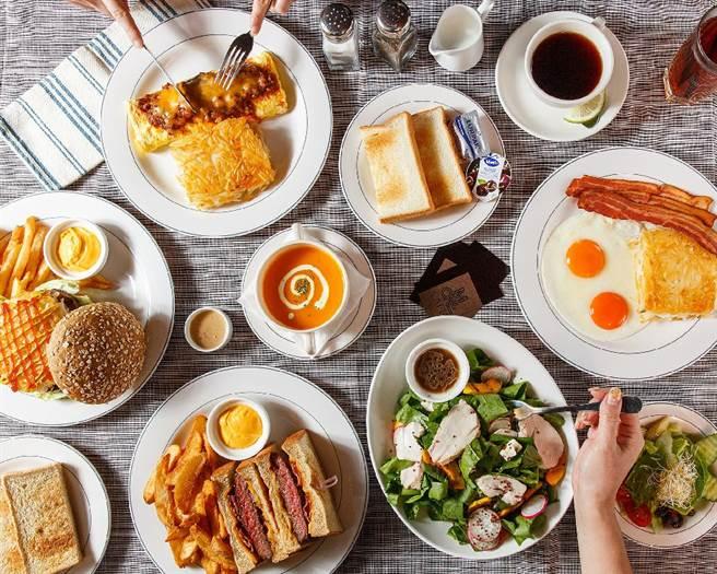 來「M One Spa」按摩紓壓之後,還能到一旁的「M One Cafe」品嘗早午餐。(圖/M One Cafe提供)