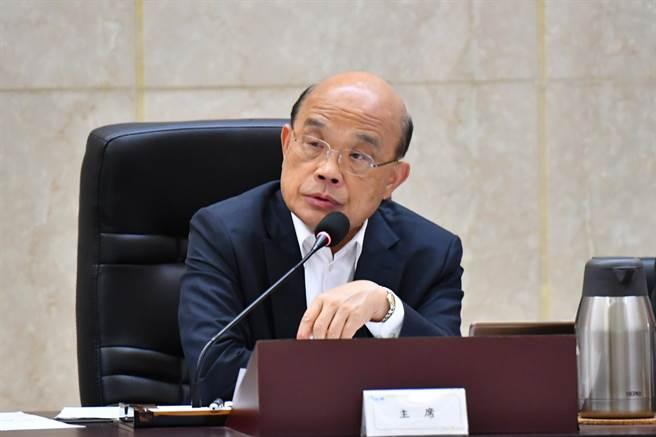蘇揆明將拍板實價登錄地政三法(蘇揆臉書截圖)
