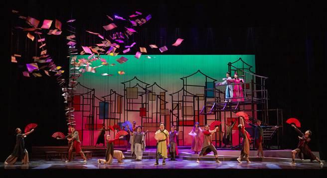 春河劇團2020大型音樂劇《救救歡喜鴛鴦樓》2020年最終站,12月26日到台南演出。(春河劇團提供/曹婷婷台南傳真)