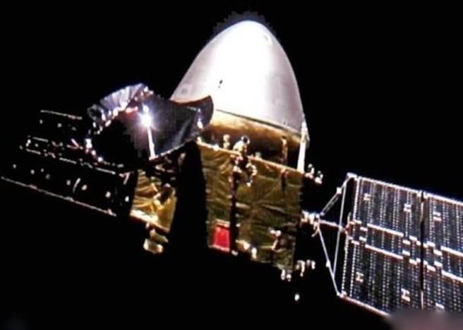 「天問一號」火星探測器。