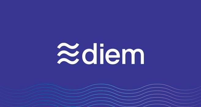 臉書的加密貨幣Diem(過去名為Libra)計畫在明年推出,不過德國當局卻強烈反對。圖/下載自官方推特
